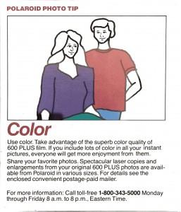 600 Film Color