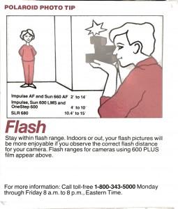 600 Film Flash